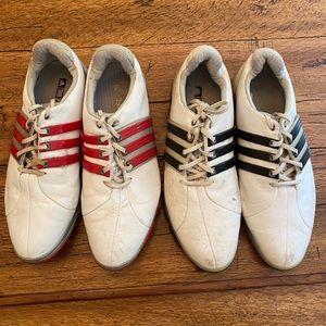 2 For 1! Adidas Men's golf shoes